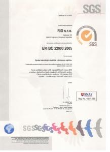 EN ISO 22000:2005